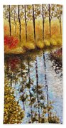 Cranberry Bog Beach Towel
