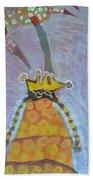 Cranberry Queen Of Portland  Beach Towel