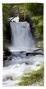 Crandel Creek Falls Beach Towel