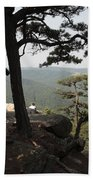 Cranny Crow Overlook At Lost River State Park Beach Towel