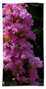 Crape Myrtle Beach Towel