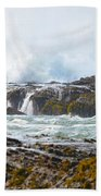Crashing Surf Beach Towel