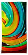 Crashing Wave Beach Towel by Amy Vangsgard