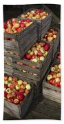 Crated Apples Beach Towel