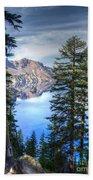 Crater Lake 1 Beach Towel
