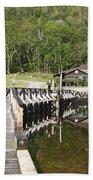Crawford Notch State Park - White Mountains Nh Usa Beach Sheet