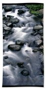 Creek Flow Polyptych Beach Towel