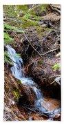 Creeks Fall Beach Towel