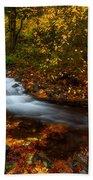 Creekside Colors Beach Towel