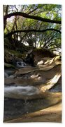 Creekside Sunrise Beach Towel