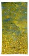 Creekwater Abstract Beach Towel