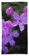 Creeping Phlox Beach Towel