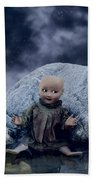 Creepy Doll Beach Towel