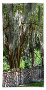 Crepe Myrtles Of Middleton Place Beach Towel