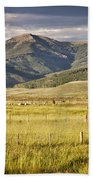 Crested Butte Ranch Beach Towel