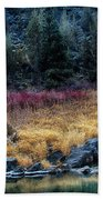 Crooked River At Smith Rock Beach Towel