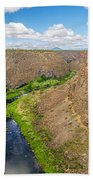 Crooked River Canyon Beach Towel