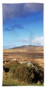 Crooked Tree At Feather Tor, Staple Beach Towel