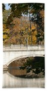 Crossing Over Into Autumn Beach Towel