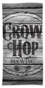 Crow Hop Brewing Beach Towel
