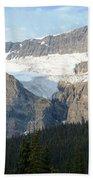 Crowfoot Glacier Beach Towel