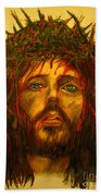 Crown Of Thorns Beach Towel