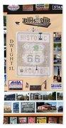 Cruise Night Poster Digital Art Beach Towel