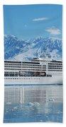 Cruisin' At Hubbard Glacier Beach Sheet