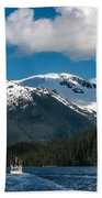 Cruising Alaska Beach Towel