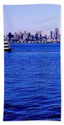 Cruising Elliott Bay Beach Towel