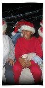 Crying Junior Santa Christmas Parade Eloy Arizona 2005-2013 Beach Towel