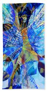 Crystal Blue Persuasion Beach Towel