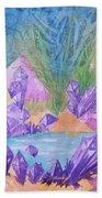 Crystal Lake Beach Towel