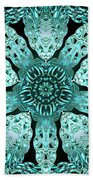 Crystal Perspective Beach Towel