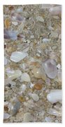 Crystal Shells Beach Towel