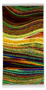 Crystal Waves Abstract 1 Beach Towel