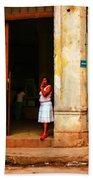Cuba3 Beach Towel