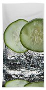 Cucumber Freshsplash Beach Towel