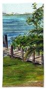 Cudjoe Dock Beach Towel
