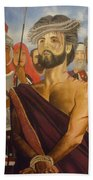 Cuiseufiction Of Christ  Beach Towel