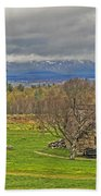 Culloden Moor And Old Leanarch Beach Towel