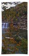 Cumberland Falls E Beach Towel