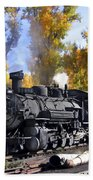 Cumbres And Toltec Railroad Beach Towel