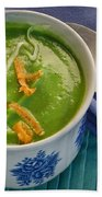 Cup Of Soup Beach Towel