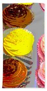 Cupcake Suite Beach Towel