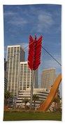 Cupids Arrow San Francisco Beach Towel