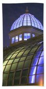 Cupola At Night Beach Towel