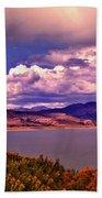 Curecanti Autumn Blue Mesa Colorado Beach Towel