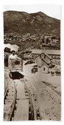 Curry Mine.virginia City Nevada.1865 Beach Towel