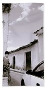 The Streets Of Cuzco Beach Towel